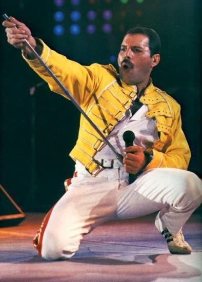 """С июня по август 1986 г.,в течение восьми недель, """"Queen """" провела..."""